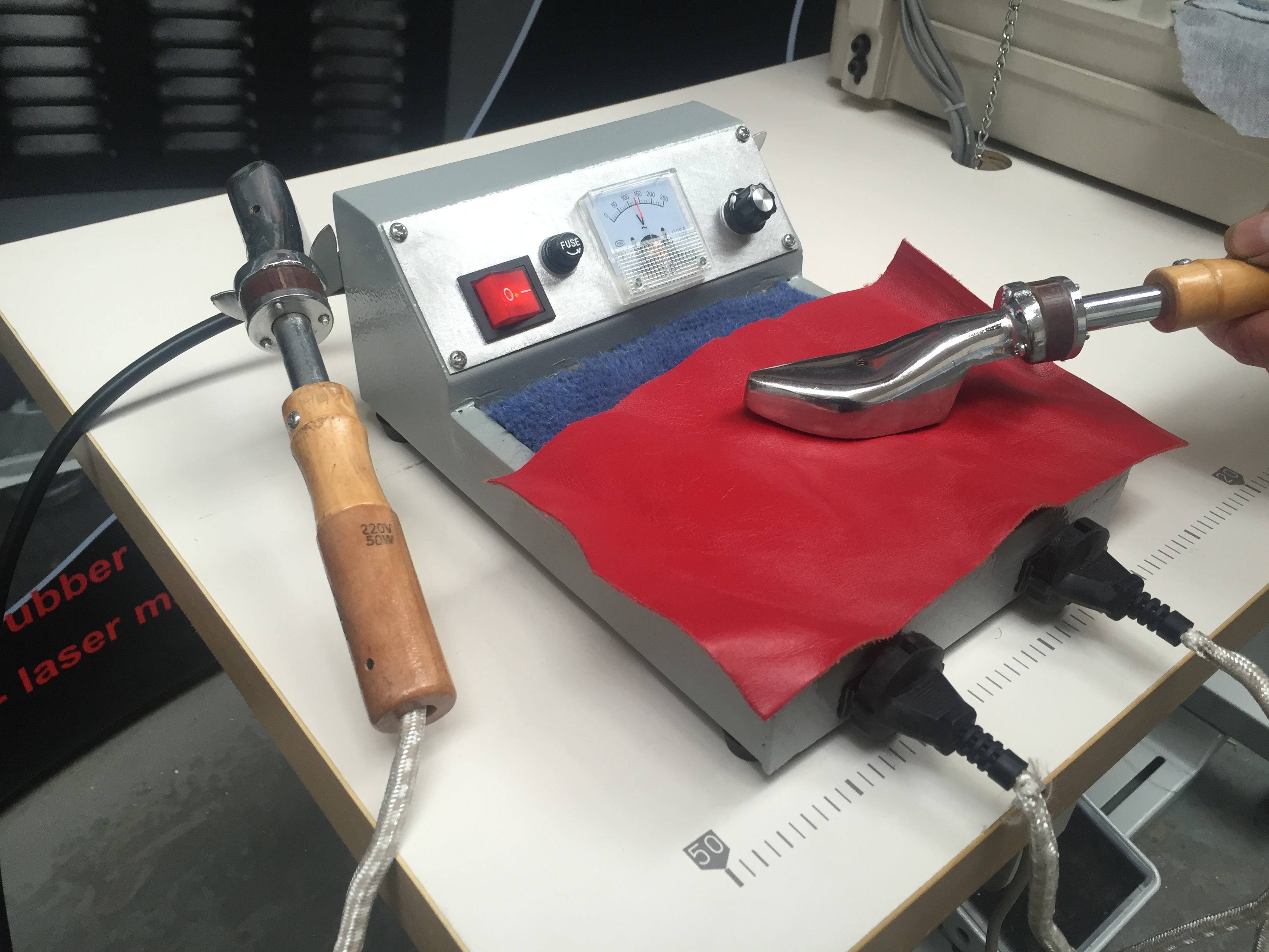 Photo of an DCR HI2 - HAND IRONING MACHINE Industrial Sewing Machines