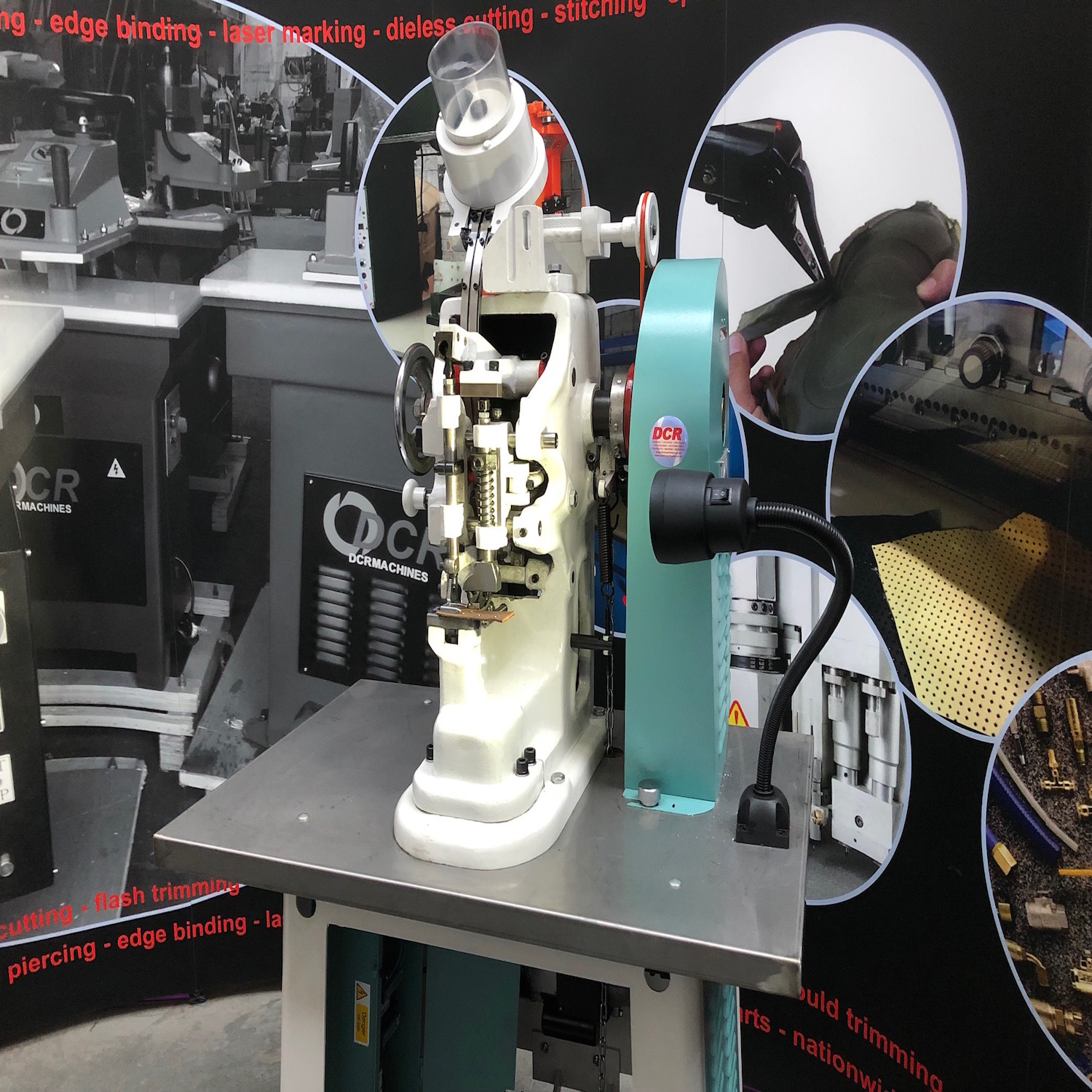 Photo of an DCR BEM - BLIND EYELET MACHINE Industrial Sewing Machines