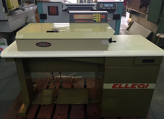Photo of an  ELLEGE GL12M3 COMPUTER SKIVING MACHINE Industrial Sewing Machines