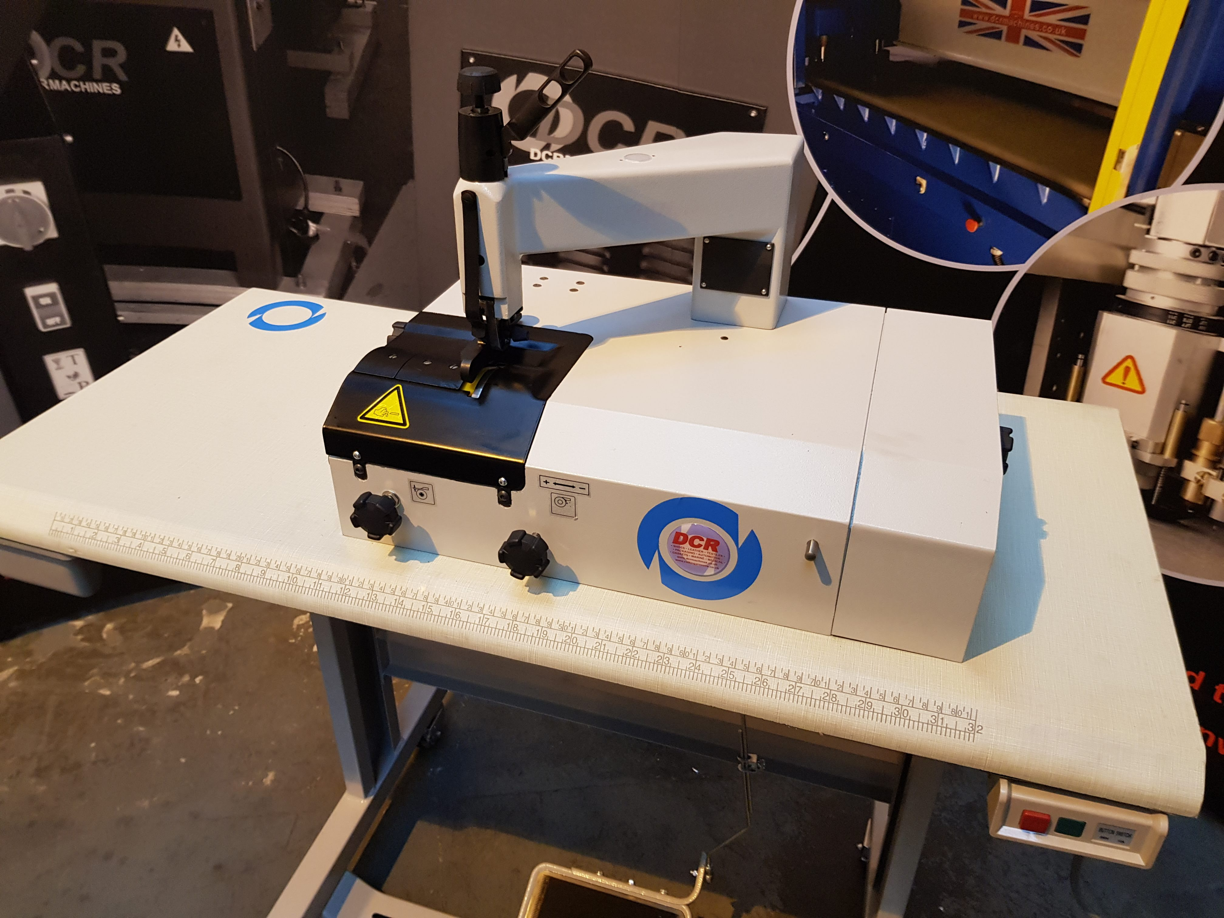 Photo of an DCR SK50-AV New Shape Skiver Industrial Sewing Machines
